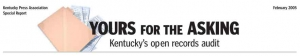 Kentucky Open Records Audit